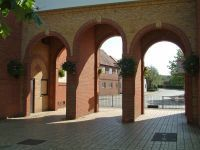 Arches through to Brickfields Road