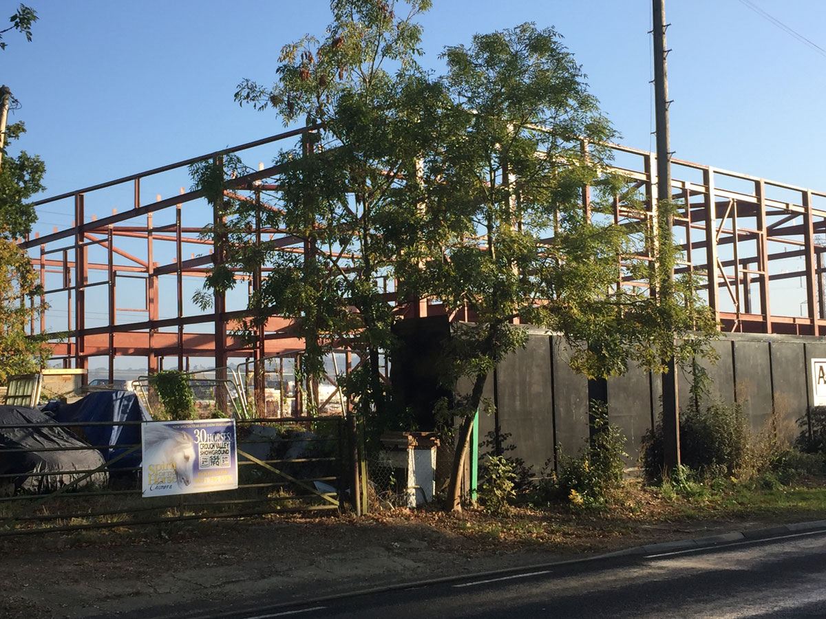 Sainsbury's site south woodham building framework