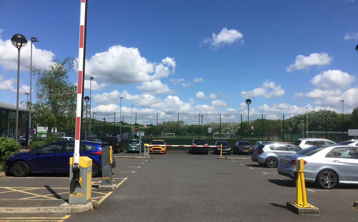 South Woodham Ferrers Leisure Centre Parking