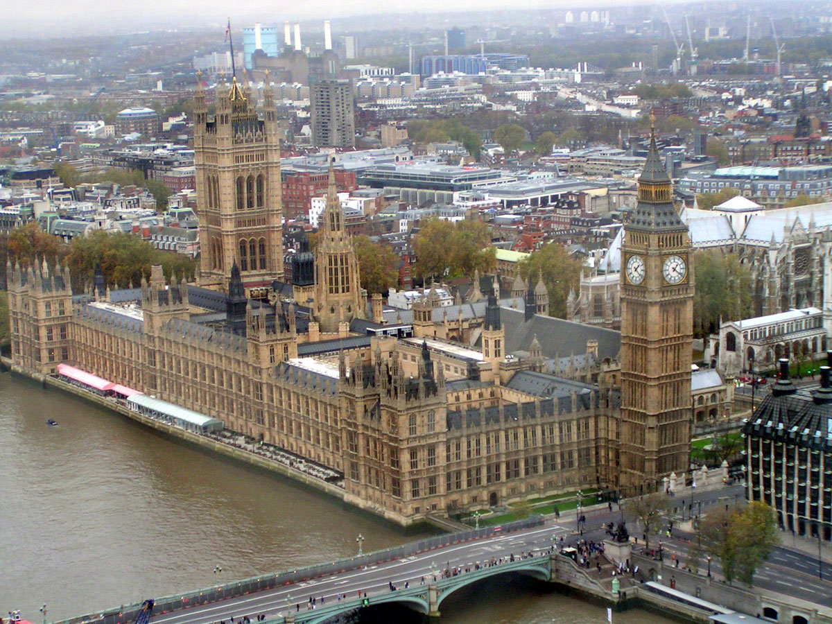 Palace of Westminster House of Commons